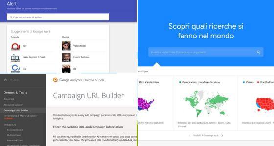 Strumenti di Google per migliorare i post su Facebook